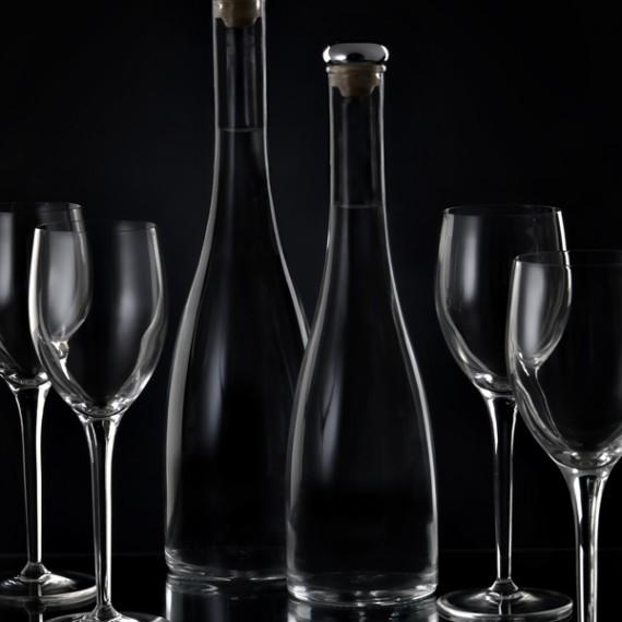Bottiglie foto Aqua chiara